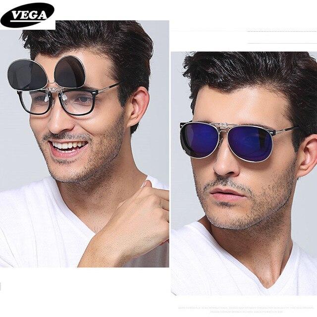 Clip On Sunglasses  aliexpress com vega polarized clip on sunglasses for