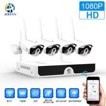 видеонаблюдение Беспроводной CCTV Системы 1080 P 1 ТБ HDD 2MP 4CH NVR IP IR-CUT открытый ip-камера видеонаблюдения безопасности Системы комплект видеонаблюдения