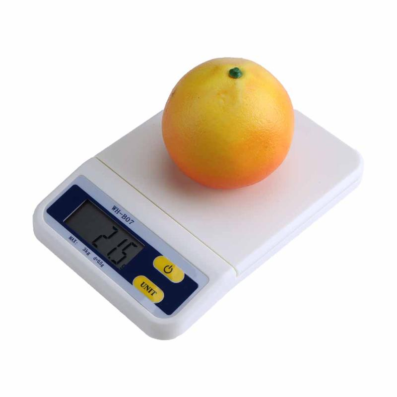 3kg Mini Portable Kitchen Electronic Scale Digital scale Kitchen Food Diet Scales Balance Weight Precision <font><b>Measure</b></font> Tools