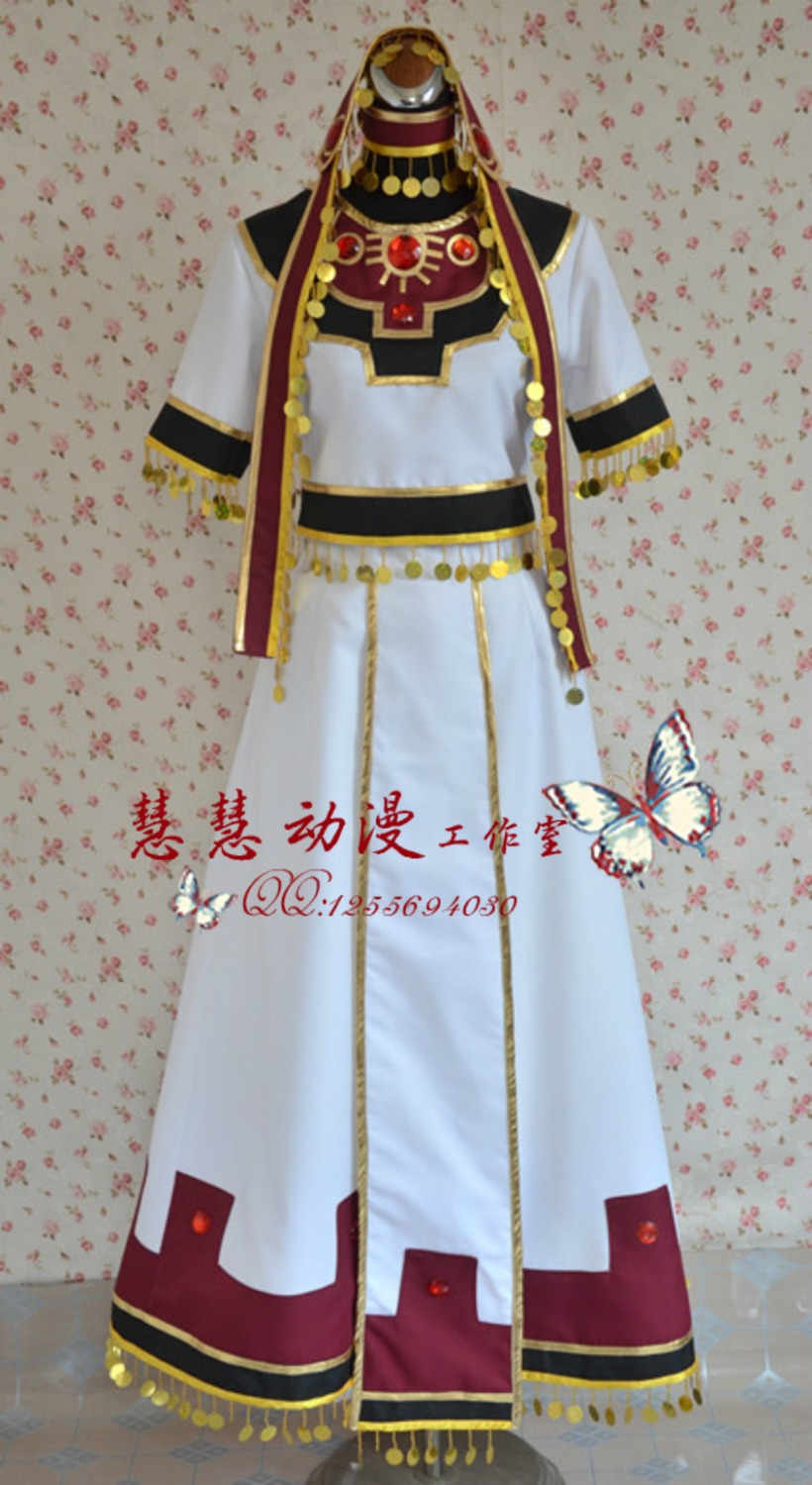 2016 Tsubasa Reservoir Chronicle Sakura Halloween Cosplay Costume Sakura Dress купить недорого в Москве
