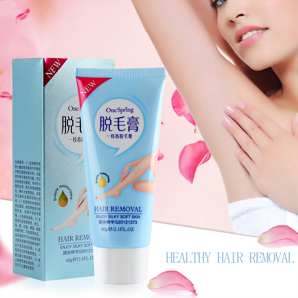 1pc New Natural Removal Cream Hair Removal Men And Women Face