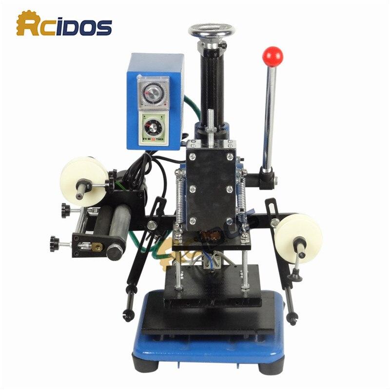ZY 819K Stanzautomaten Maschine, RCIDOS Rillen maschine, LOGO ...