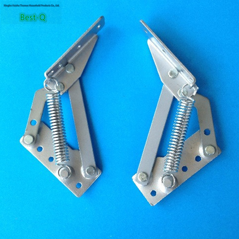 Free shipping every turn hinge connection woodworking metal furniture accessories bed box hinge on the cabinet door hinge 1 pair 4 inch stainless steel door hinges wood doors cabinet drawer box interior hinge furniture hardware accessories m25