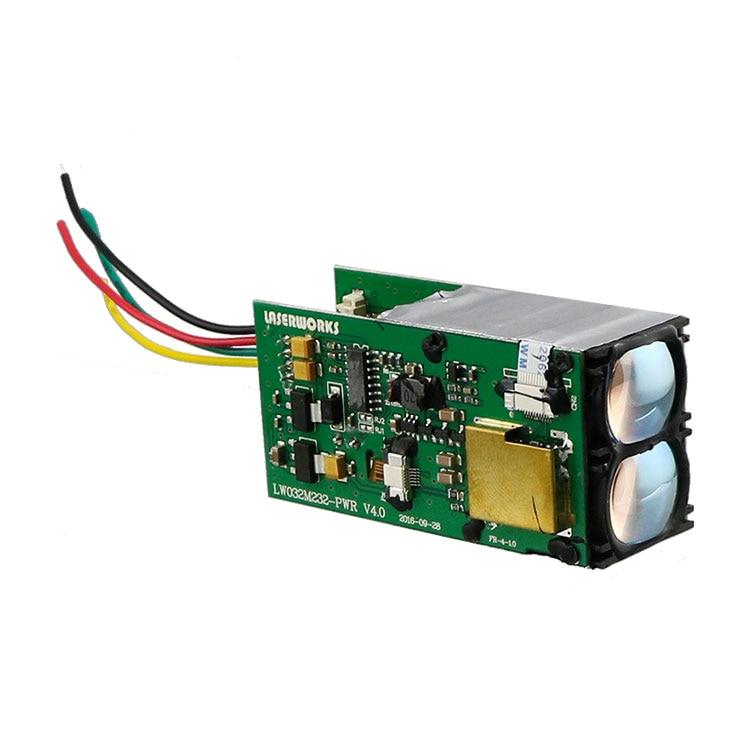 LaserWorks 1500meter RS232 Laser Distance Sensor LRF Module TOF Laser Rangefinder For Industrial Automation