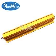 500 Вт алюминиевый мощный металлический корпус чехол проволочный резистор 0,1 R ~ 500R 0,5 100 1 2 4 5 8 10 50 500 Ом