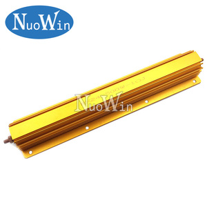 Image 1 - 500W Aluminum Power Metal Shell Case Wirewound Resistor 0.1R ~ 500R 0.1 0.5 1 2 4 5 8 10 50 100 500 ohm