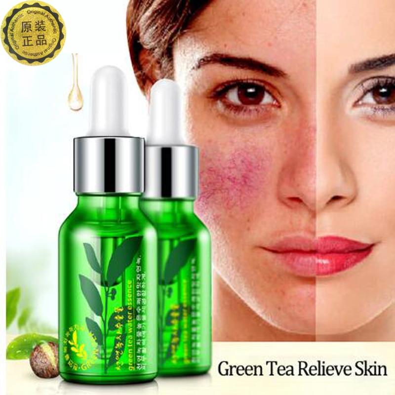 Rorec Green Tea Serum Anti-Wrinkle Cream Anti-Aging 15ml Blemish Cream Ihonhoito Kollageeni Essence Kosteusvoiteet