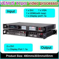 RGBlink VENUS X1PRO Simply professional 4K scaling and switching led video processor hd display