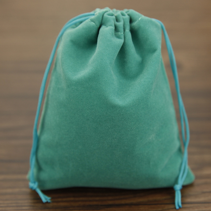 50pcs Bag Jewelry Ng Velvet 6 7cm Drawstring Bags Pouches Free Shipping In Packaging Display From Accessories On