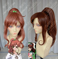 Sailor Moon Sailor Jupiter High Quality Beautiful Fashion Style Halloween Wig Party Hair Kino Makoto Brown Cosplay Anime Wigs