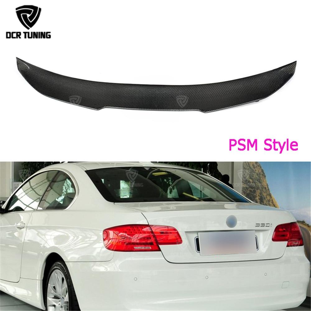 Sayap karbon Untuk BMW E92 Spoiler 3 Seri 2 Pintu E92 M3 E92 Kinerja - Suku cadang mobil - Foto 3