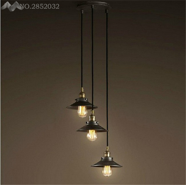 JW_Loft Metal Pendant Lamp Loft Europe American Vintage for ...