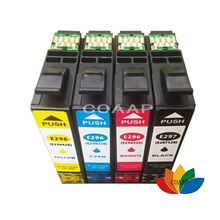 4 Compatible T2971 BLACK T2962 CYAN T2963 MAGENTA T2964 YELLOW Ink Cartridges for Epson XP231 XP431 XP241 XP-431 XP-241 XP-231 epson ink container yellow