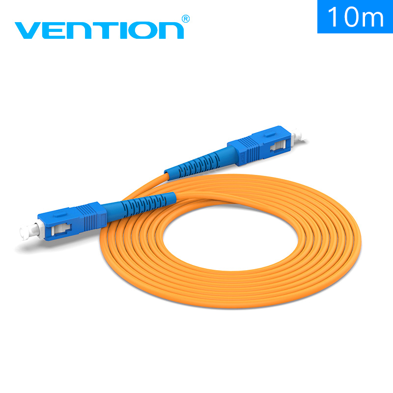 Vention 2018 New SC-SC Single Mode Fiber Optic Patch Cord Jumper wire Top Quality Fiber-Optic Patch Cord Cemaric Ferrule LSZH embroidered flower patch jumper