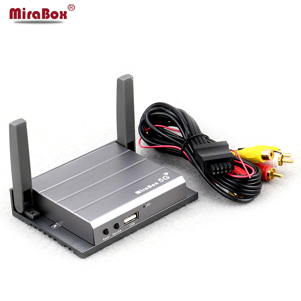 Home Mirabox 5G Support Youtube 720P For iOS10 And Android Mirrorlink Box Car Mirabox With HDMI And CVBS youtube мощный поток клиентов для вашего бизнеса