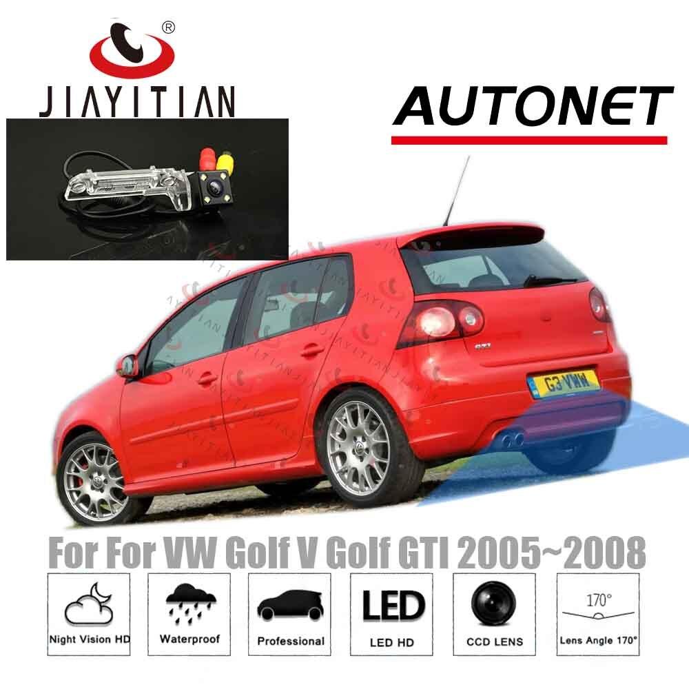 JiaYiTian Car Rear View Camera For Volkswagen VW Golf 5 Golf V R32 MK5 CCD Backup Camera/Night Vision/CCD/License Plate Camera