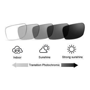 Image 4 - Gafas ópticas fotocromáticas de transición, gafas de lectura de fuerza personalizadas, para miopía, hipermetropía, Rx + Rx, Retro, Nerd, UV400