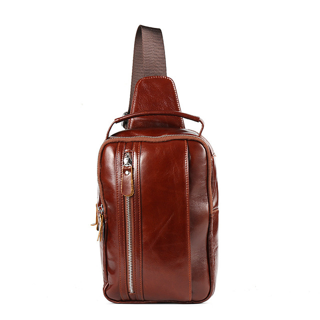 Unisex Vintage Messenger Bag Men Women Handmade Genuine Leather Retro  Ladies Shoulder Recruitment Agent Support Drop Shipping f5d5287a73753