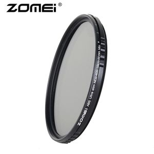 Image 2 - ZOMEI Slim ABS Fader ND2 400 Adjustable filter Neutral Density ND2 to ND400 for DSLR Camera Canon Nikon 49/52/58/67/72/77/82mm