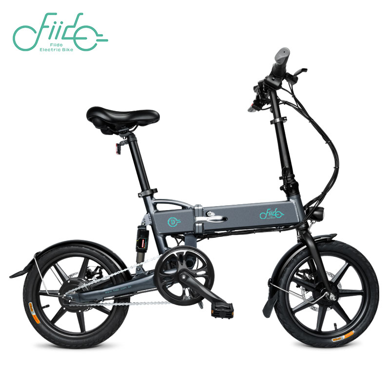 FIIDO D2 16 inch 7.8Ah D1 D3 D2s D3s Folding Electric Bicycle Aluminum Alloy Dual Disc Brake Portable Electric Bike EU Warehouse