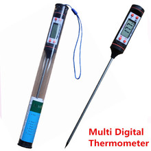 LCD Display Digital Meat Thermometer Kitchen Digital Cooking Food Probe BBQ Oven Cooking Tools Thermometer Temperature Sensor