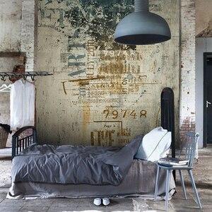 3D обои в стиле ретро, граффити, ветхая настенная фотообои для спальни, гостиной, фон, не тканая настенная бумага