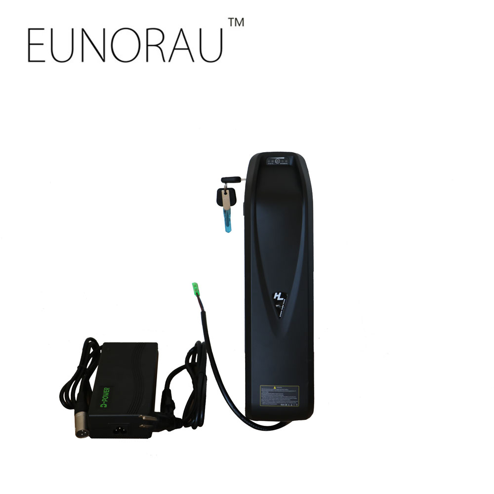 EUNORAU e bike E BIKE 52V 14AH B-05 Plus hailong Electric Bicycle lithium ebike Battery with USB port electric bicycle case 36v lithium ion battery box 36v e bike battery case used for 36v 8a 10a 12a li ion battery pack