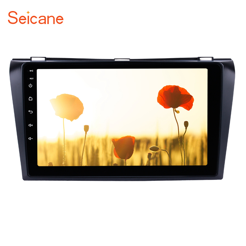 Seicane HD 1024 600 Android 8 1 for 2004 2007 2008 2009 Mazda 3 Car Radio