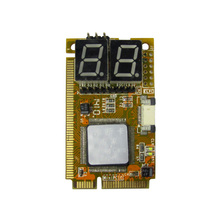 купить 2017 5 IN 1 PCI-E, PCI, LPC, I2C, ELPC diagnostic post tester card For Laptop Motherboard Guaranteed 100% дешево