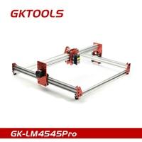 GKTOOLS GK LM4545Pro DIY Laser Engraving Machine CNC Printer 5500mW PWM Control Benbox GRBL EleksMaker