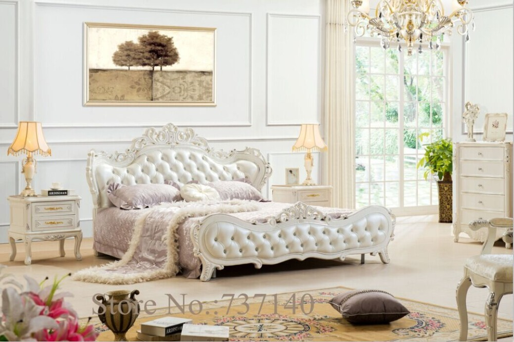 muebles de dormitorio juegos de muebles de dormitorio de lujo barroco muebles juego de dormitorio de madera maciza cama de compr