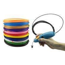 Pluma 3D filamento de recarga compatible con 3 Garabateador start 3D pluma, Eco de plástico filamento reemplazo de 3 Doodler inicio de plástico relleno