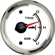Универсальный КУС Лодка Отделкой Датчика Морской Trim Tilt Indicator for Inboard Outboard Engine 52 мм