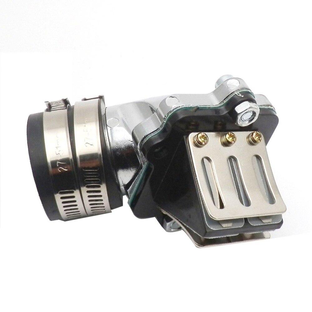 34 мм Производительность коллектор гонок впускной трубы для Yamaha 50cc Zuma Jog 1E40QMB