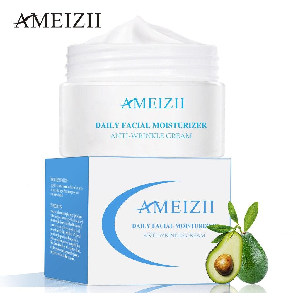 AMEIZII Hydratant Visage Crème Anti Rides Blanchiment Soins de La Peau Rides Ascenseur Essence Anti-Vieillissement Crème de Blanchiment D'acide Hyaluronique