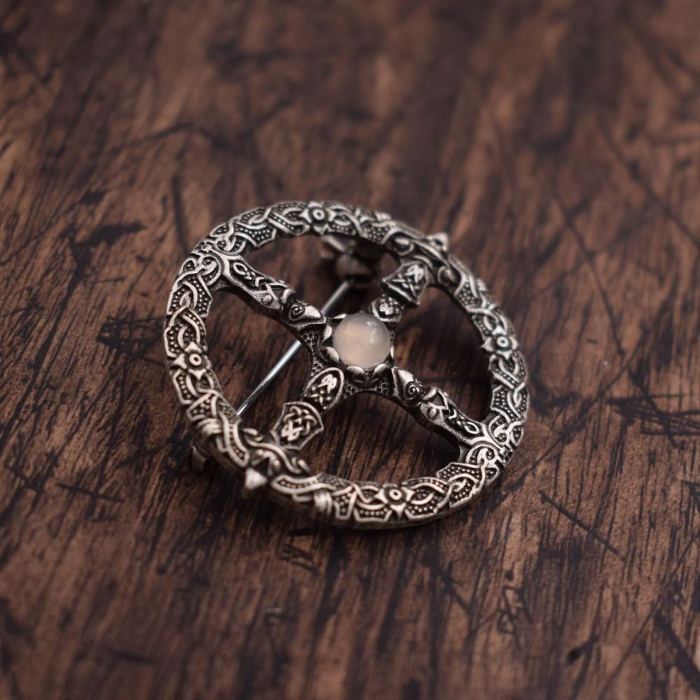 Vegvisir broche vikingo brújula amuleto nórdico talismán vikingo joyería 20 piezas-in Llaveros from Joyería y accesorios    1