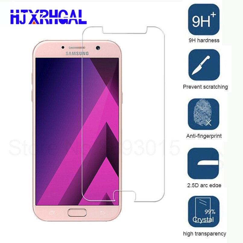 HD Tempered Glass For Samsung Galaxy A3 A5 A7 J3 J5 J7 2016 Screen Protector For Samsung A3 A5 A7 J3 J5 J7 2017 Protective Film