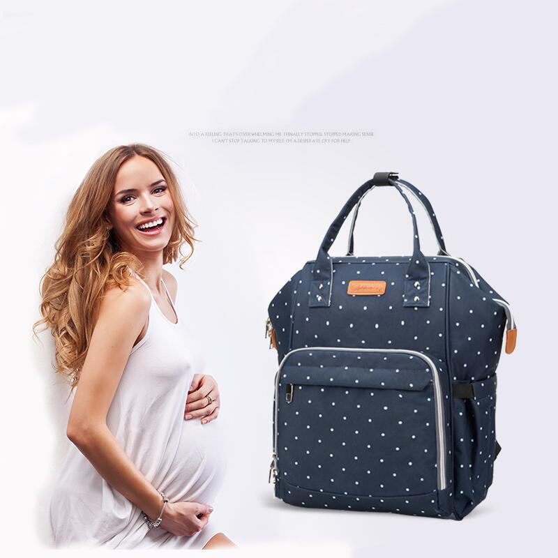 5 Colors Fashion Mummy Maternity Nappy Bag Brand Large Capacity Baby Bag Travel Backpack Designer Nursing Bag for Baby Care