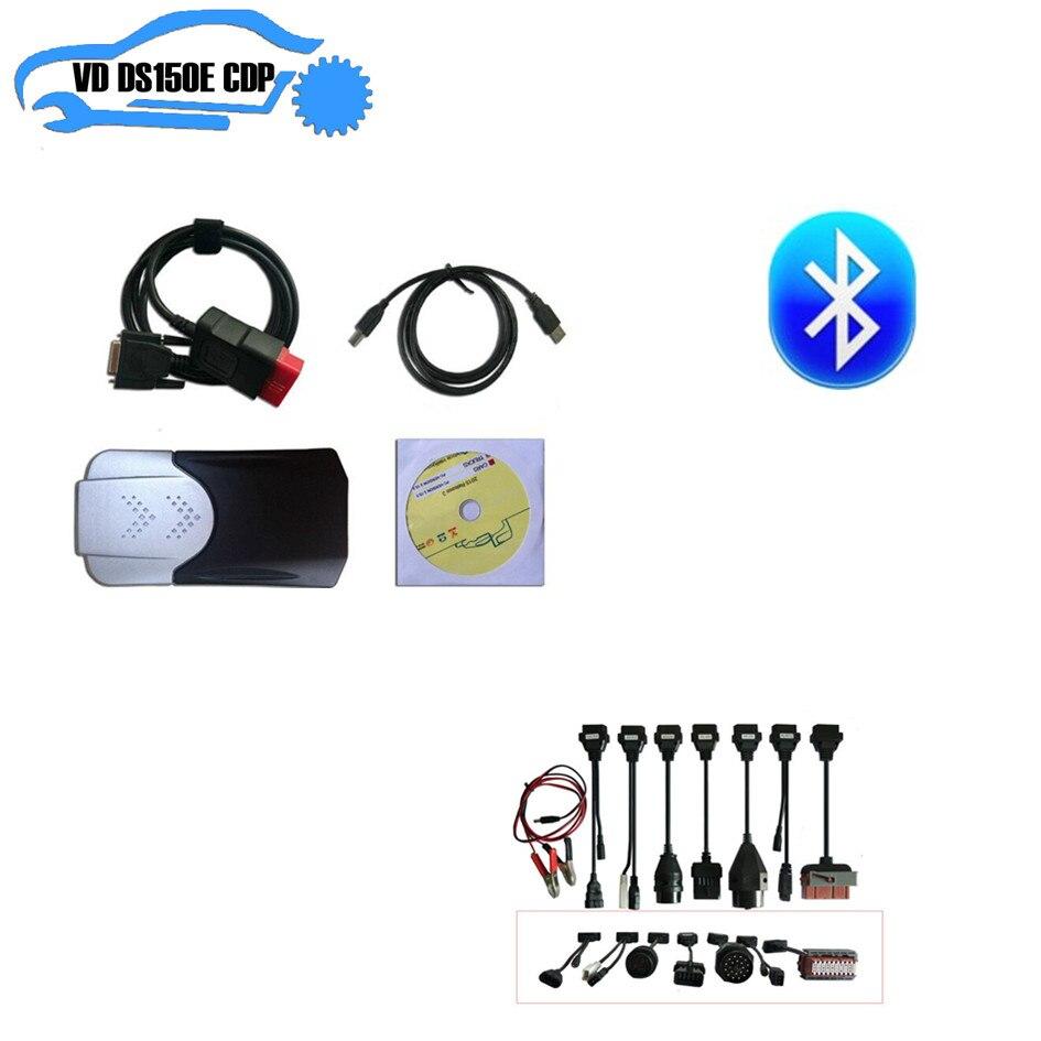 Новая коробка для delphis vd ds150e cdp PRO PLUS с nec Япония реле с bluetooth для autocoms cdp pro