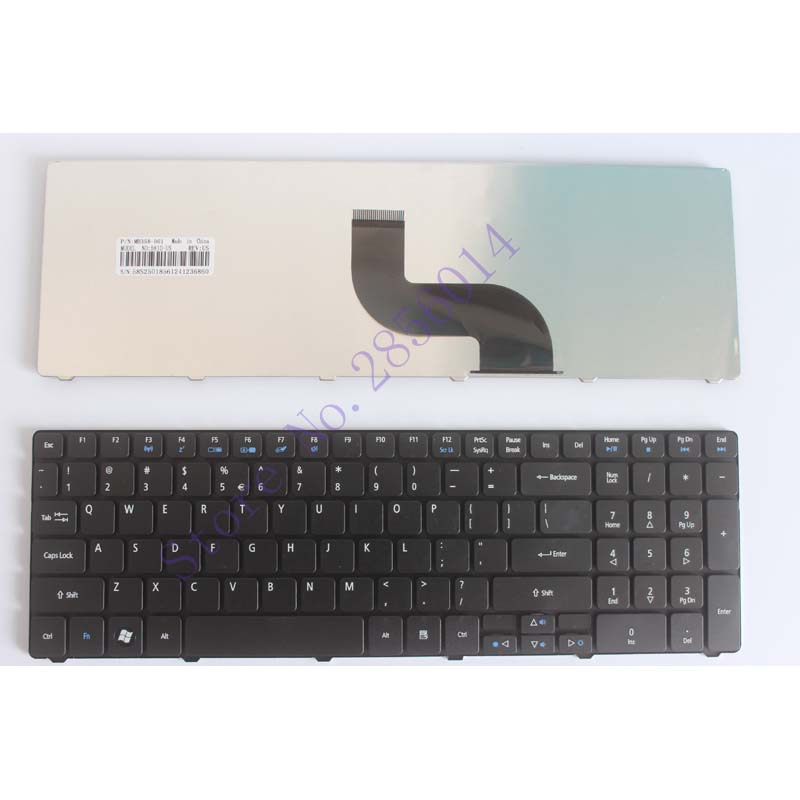 English Keyboard for Acer Aspire 5750 5750G 5253 5333 5340 5349 5360 5733 5733Z 5750Z 5236 5242 5250 5251 5252 5253G laptop US new us keyboard for acer aspire vn7 793g vx5 591g vx5 591g 52wn us laptop keyboard with backlit