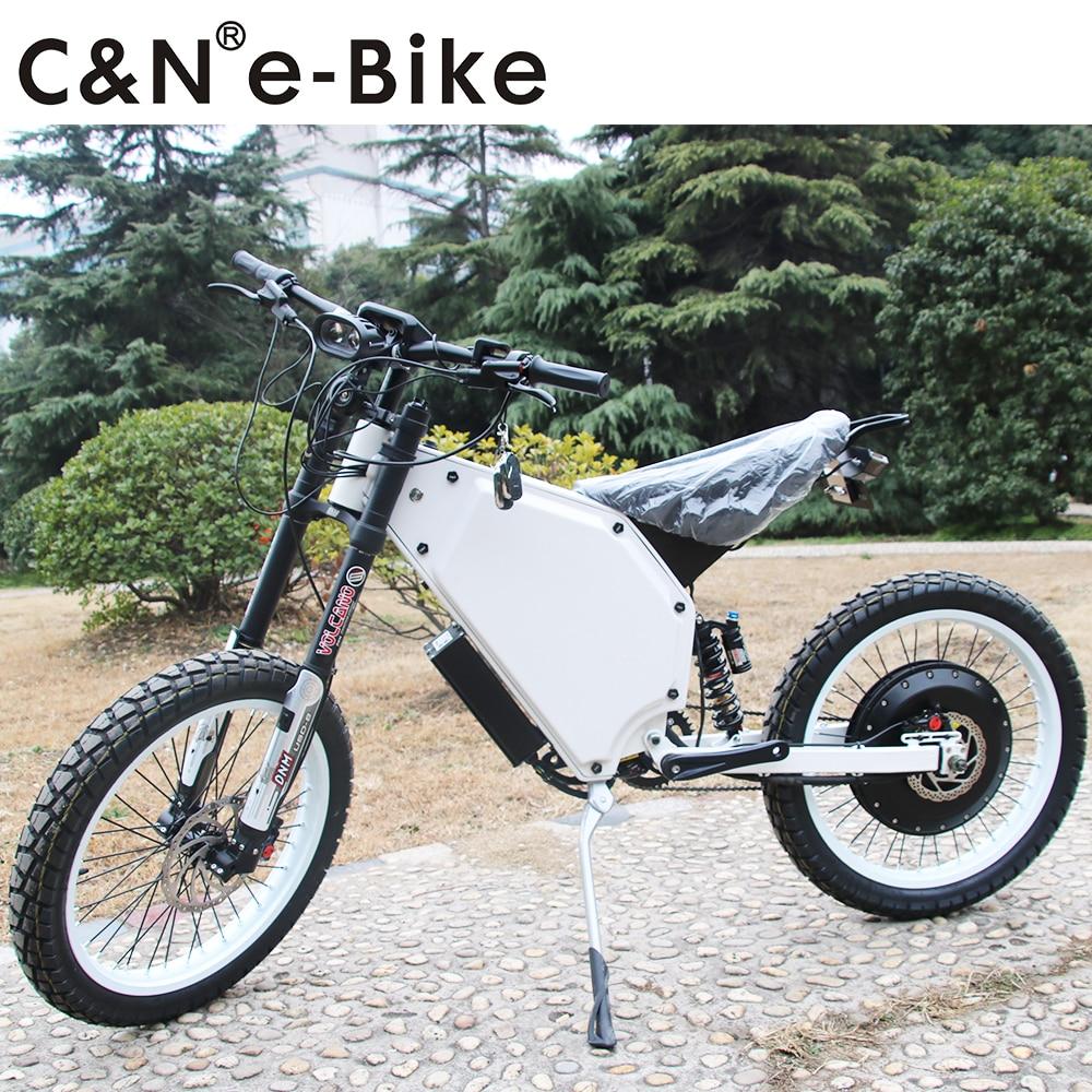 2018 Newest model 72v 8000w Electric Motorcycle Mountain Bike Enuro Ebike