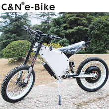 2018 Newest model 72v 8000w Electric Motorcycle Mountain Bike Enuro Ebike