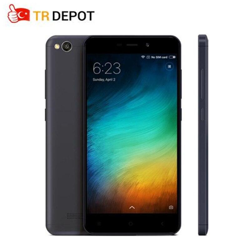 Original Xiaomi Redmi 4A 2GB 16GB Redmi 4A 2GB 16GB Snapdragon 425 Quad Core CPUROM 5.0 13.0MP  Mobile Phone