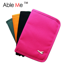 New 2017 Nylon Passport Travel Wallet Clip For Money Credit Card Holder Small Travel Wallet Porte Feuille Femme Passport Wallet