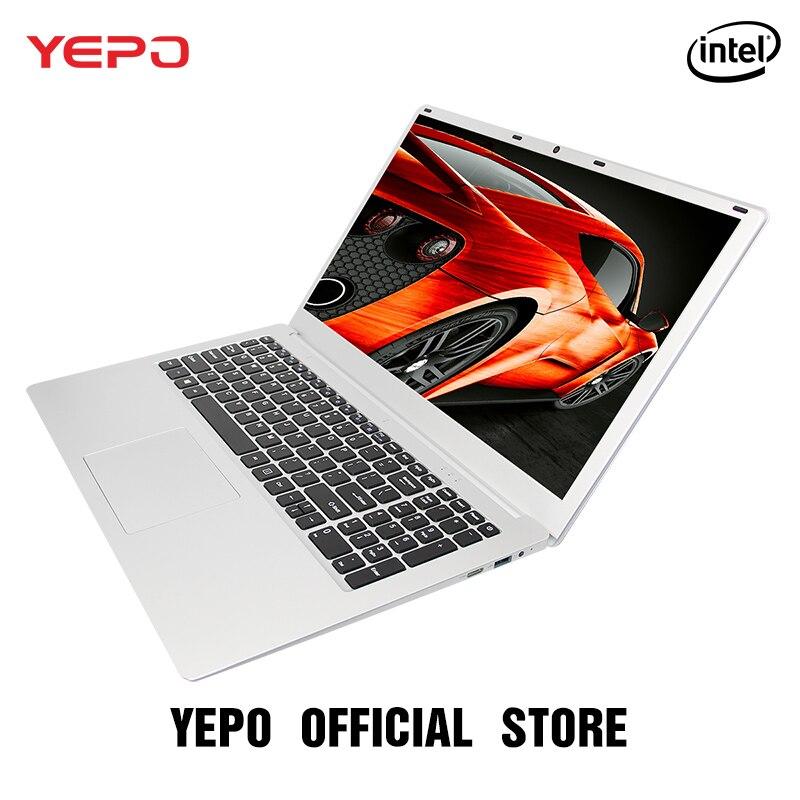 YEPO ноутбук 15,6 дюймов 6 г Оперативная память 1000 ГБ HDD Ultrabook Intel Apollo Игровые ноутбуки 4 ядра MSI Тетрадь для студентов офисные Бизнес