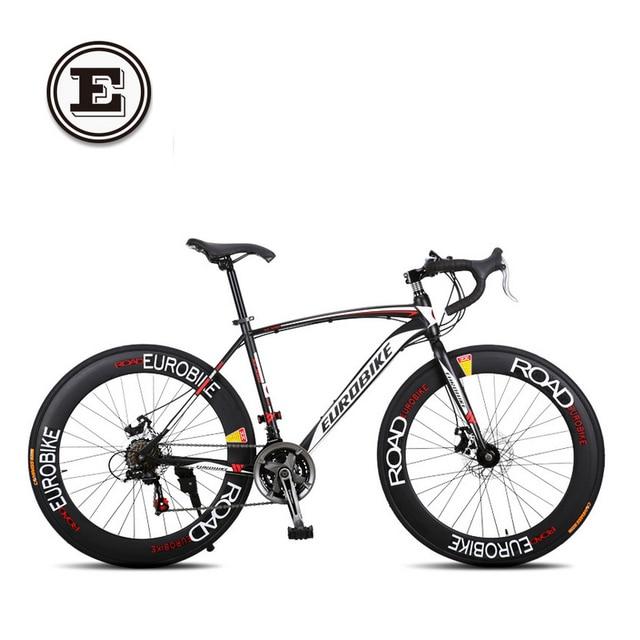 EUROBIKE 21/27 speed 700C road racing bike carbon steel frame ...