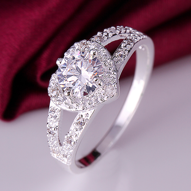 diamond ring engagement nice sits on the finger big myshoplah rings fingers