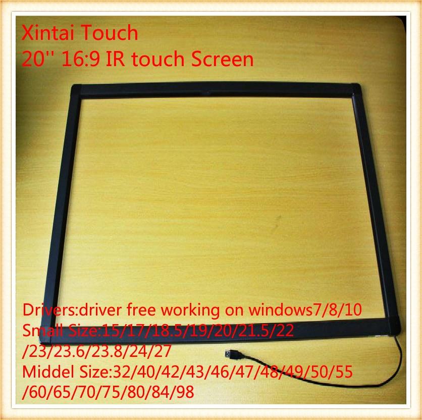 20-palčni 2-točkovni IR zaslon na dotik / IR zaslon na dotik za mizo na dotik, kiosk itd