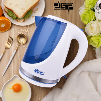цена на DSP KK1111 Electric Kettle Machine Automatic Concealed Stainless Steel Heating Element Fast Boil Water Teapot
