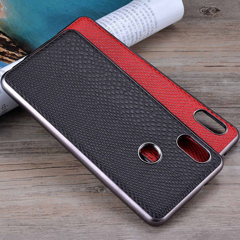 Case for Xiaomi Redmi Note 5 pro luxury fashion snake skin leather with soft capa cover for xiaomi redmi note 5 case funda coque